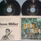 Dbl EP w/PS-GLENN MILLER STORY-...PLAYS SELECTIONS FROM