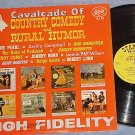 CAVALCADE OF COUNTRY COMEDY AND RURAL HUMOR--Starday LP