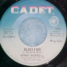 45-KENNY BURRELL-BLUES FUSE-1968-Cadet 5597-Promo--VG++