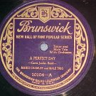 78--MARIO CHAMLEE--A PERFECT DAY--Brunswick 10104--VG++