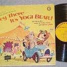 HEY THERE--IT'S YOGI BEAR-VG+ 1964 TV Sdk LP-Golden 124