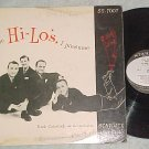 HI-LO'S--THE HI-LO'S, I PRESUME--1956 LP--Starlite 7007