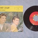 45 w/PS-EVERLY BROTHERS--SO SAD/LUCILLE--1960--VG++/VG+