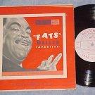 "FATS WALLER FAVORITES--10"" NM/VG+ 1951 LP--RCA LPT-14"