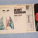 BENNY GOODMAN-HAPPY SESSION-NM/VG+ 1959 LP--6-eye label
