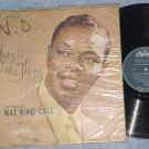 NAT KING COLE--LOVE IS THE THING--1957 Brazil LP