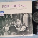 POPE JOHN XXIII--Self Titled NM Mono 1963 LP--Speeches