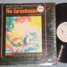 THE CARPETBAGGERS--VG++/NM in shrink 1964 Sdk LP on Ava