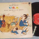 DAVE BRUBECK-JAZZ IMPRESSIONS OF THE U.S.A-NM/VG '57 LP