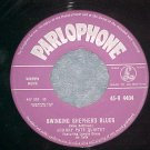 UK 45--JOHNNY PATE--SWINGING SHEPHERD BLUES--Parlophone