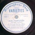 78-ALEC TEMPLETON-c.1935-Gramophone Shop Varieties 1008