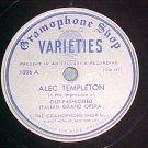 78-ALEC TEMPLETON-c.1935-Gramophone Shop Varieties 1006