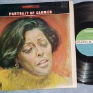 CARMEN McRAE--PORTRAIT OF CARMEN--NM/VG+ Stereo 1968 LP