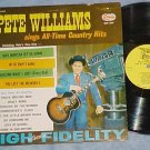 PETE WILLIAMS SINGS COUNTRY HITS--Starday LP--Autograph