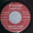 45-WILLIS JACKSON QUINTET--COOL GRITS-1959-Prestige 149