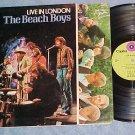 THE BEACH BOYS-LIVE IN LONDON--VG+ 1971 Dutch Import LP