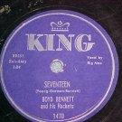 78--BOYD BENNETT--SEVENTEEN--1955--King 1470--Big Moe
