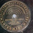 78--BUD BILLINGS/SMILIN' ED O'CONNELL--Montgomery Ward