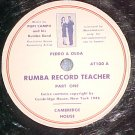 78-PUPI CAMPO-RUMBA RECORD TEACHER-Pt 1-Pedro & Olga-#2