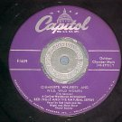 45-RED INGLE AND JO STAFFORD-TEMPTATION-1951-Capitol-NM