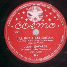 78-JOAN EDWARDS-I'LL BUY THAT DREAM/NO CAN DO-Cosmo 456