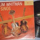 SLIM WHITMAN SINGS--VG+ 1959 LP--Imperial LP-9064