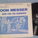 DON MESSER AND HIS ISLANDERS--c.1964 Canada LP on Banff