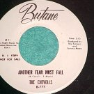 45-THE CHEVELLS-ANOTHER TEAR MUST FALL-Butane--WL Promo