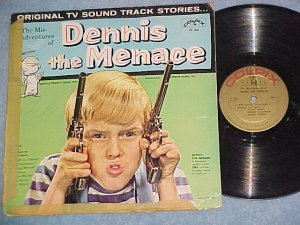DENNIS THE MENACE--1960 TV Sdk LP--Colpix 204