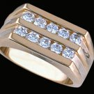 Gentleman's Cubic Zirconia Fashion Ring #2262