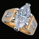 Ladies Cubic Zirconia Fashion Ring #284