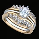 Ladies Cubic Zirconia Fashion Ring #287