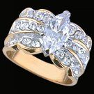 Ladies Cubic Zirconia Fashion Ring #290