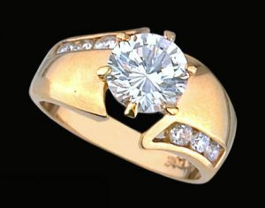 Ladies Cubic Zirconia Fashion Ring #294
