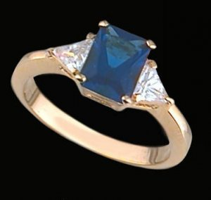 Ladies Cubic Zirconia Fashion Ring #314