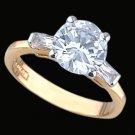 Ladies Cubic Zirconia Fashion Ring #354