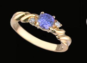 Lds Cubic Zirconia Fashion Ring #390
