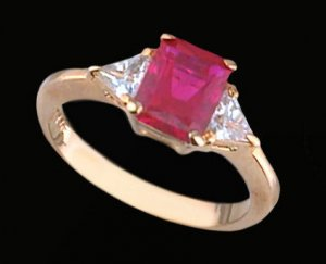 Lds Cubic Zirconia Fashion Ring #395
