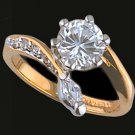 Lds Cubic Zirconia Fashion Ring #421