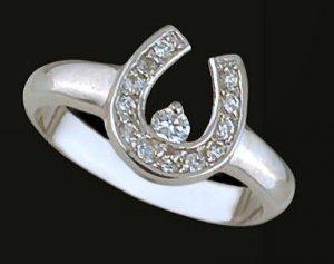 Ladies Cubic Zirconia Fashion Ring #422