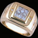 Gentleman's Cubic Zirconia Fashion Ring #2257