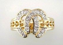 Gentleman's Cubic Zirconia Fashion Ring #2303