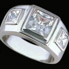 Gentleman's Cubic Zirconia Fashion Ring #2251