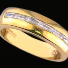 Gentleman's Cubic Zirconia Fashion Ring #2236