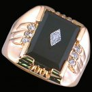 Gentleman's Genuine Onyx Fashion Ring #2243