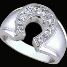 Gentleman's Cubic Zirconia Fashion Ring #2253