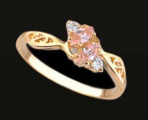 Lds Cubic Zirconia Fashion Ring #440