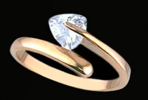 Lds Cubic Zirconia Fashion Ring #452