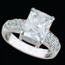 Lds Cubic Zirconia Fashion Ring #480