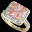 Lds Cubic Zirconia Fashion Ring #531